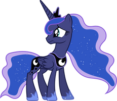Upset Princess Luna (1) by 90Sigma