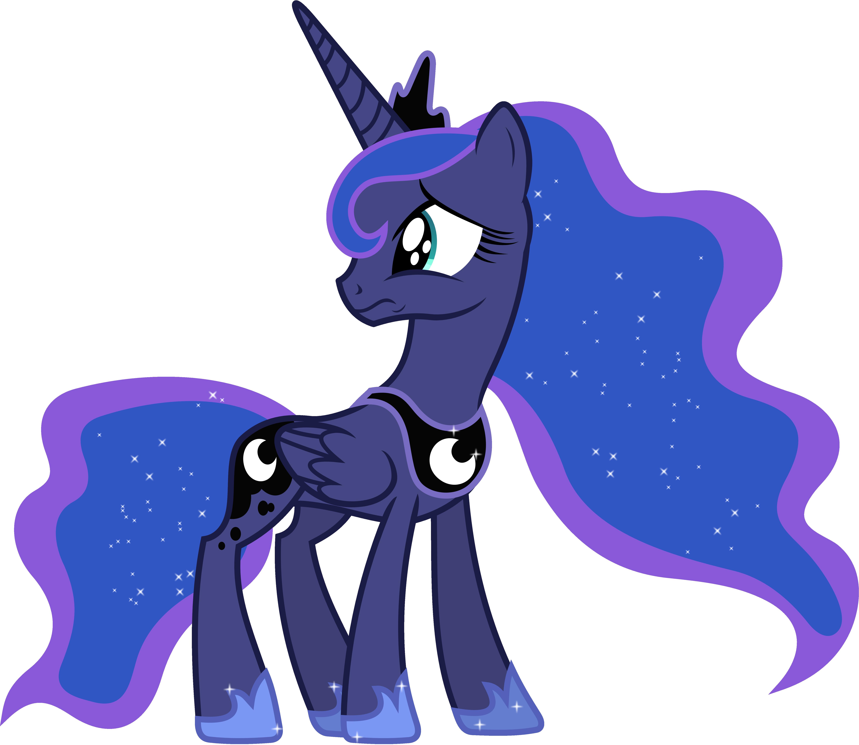 Upset Princess Luna (1) by 90Sigma