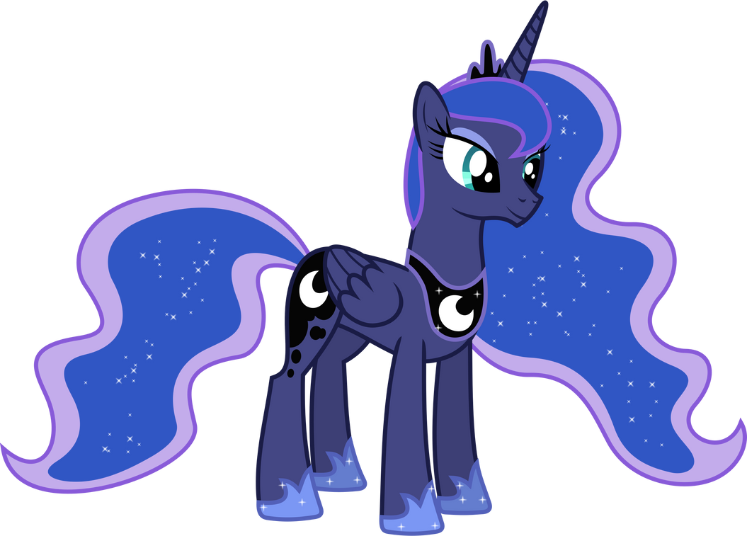 Happy Princess Luna by 90Sigma