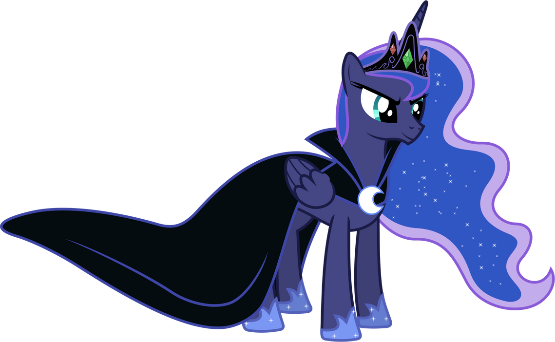 Princess Luna's Dress (NLR Version) by 90Sigma