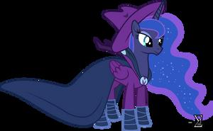 Princess Luna as Mare Do Well by 90Sigma