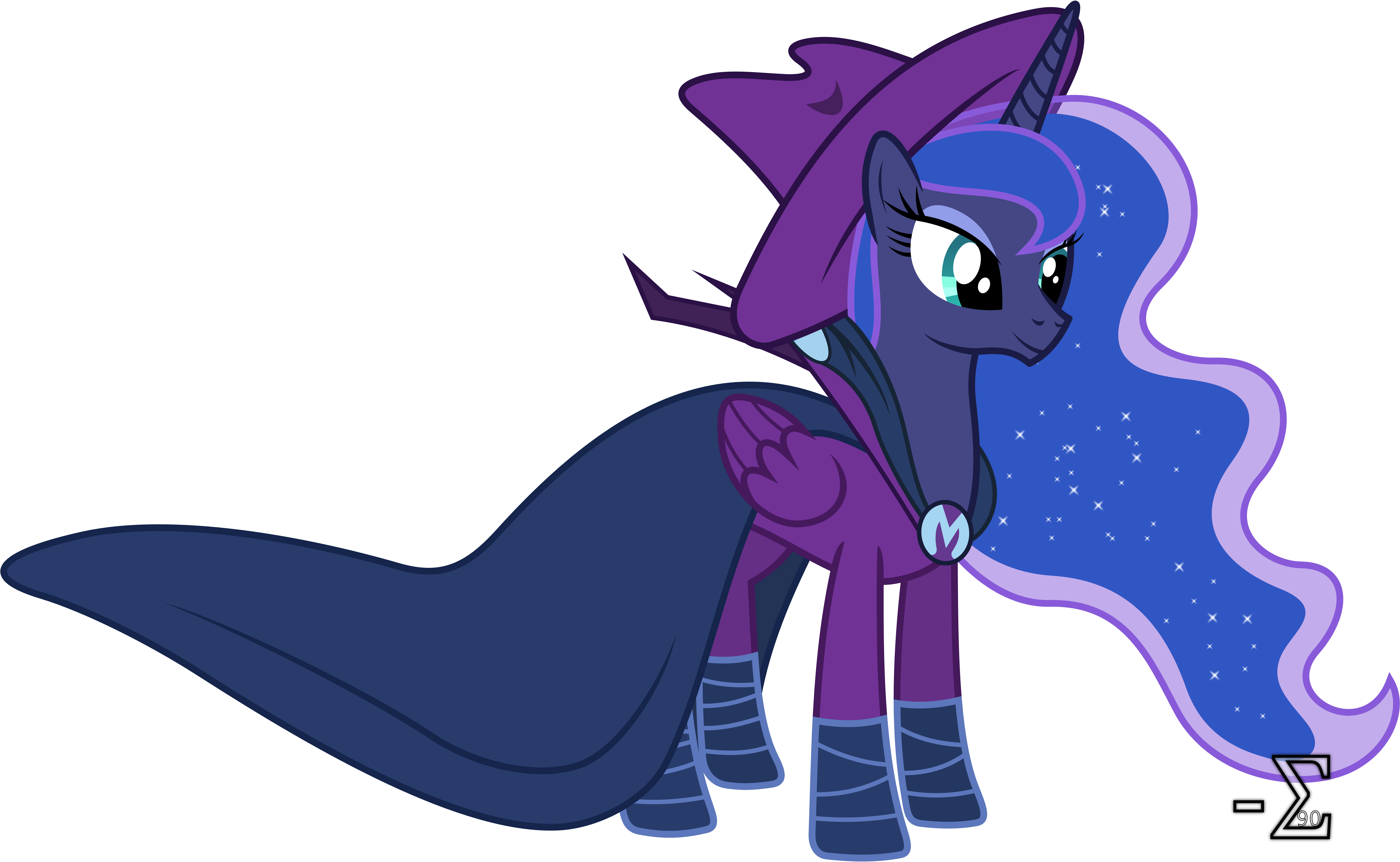 Princess Luna As Mare Do Well By 90Sigma On DeviantArt