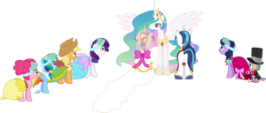 A Canterlot Wedding (Ponies Only)