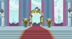 Background: Canterlot Wedding Altar