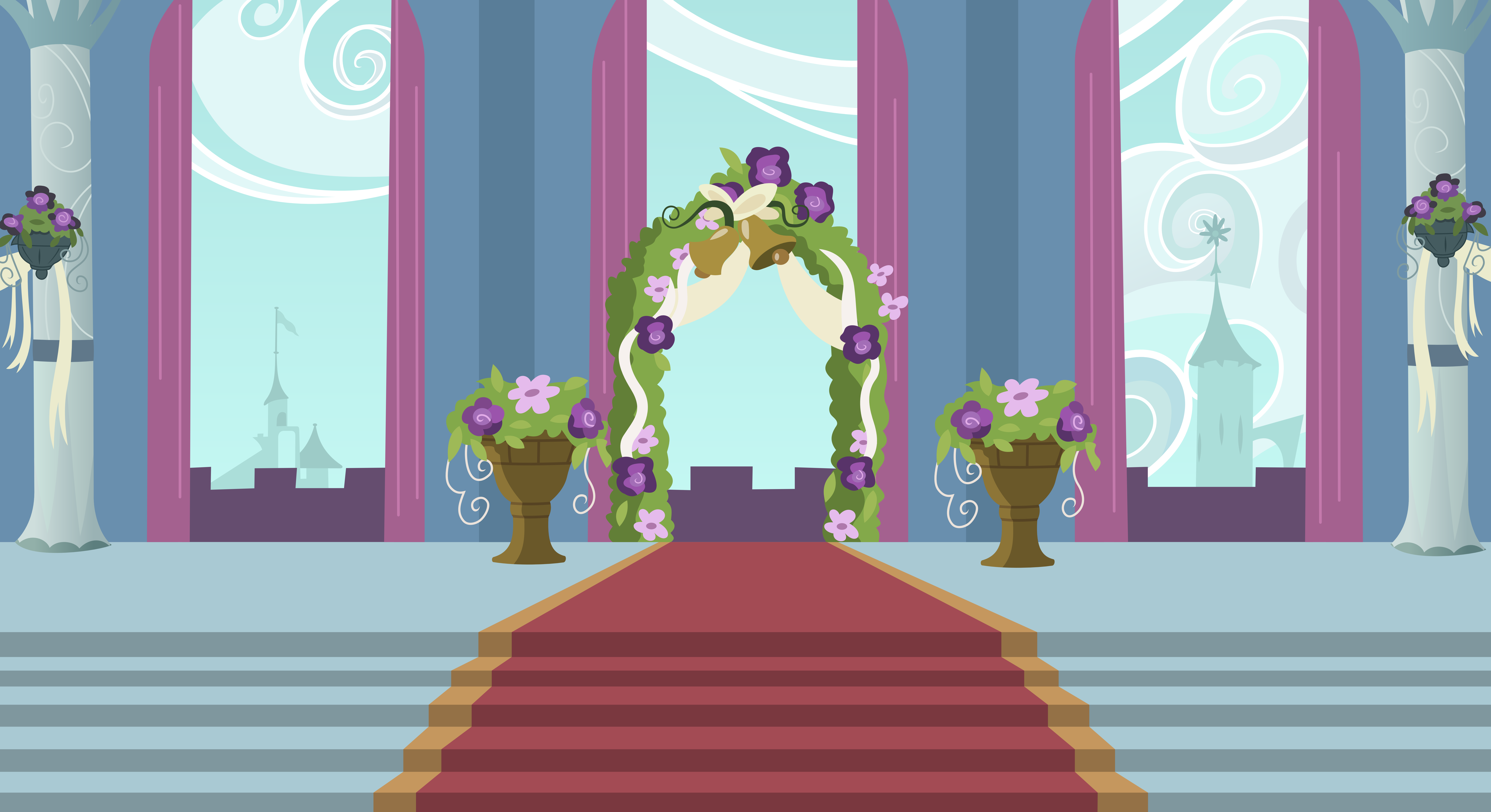 Background canterlot wedding altar by 90sigma on deviantart background canterlot wedding altar by 90sigma junglespirit Gallery