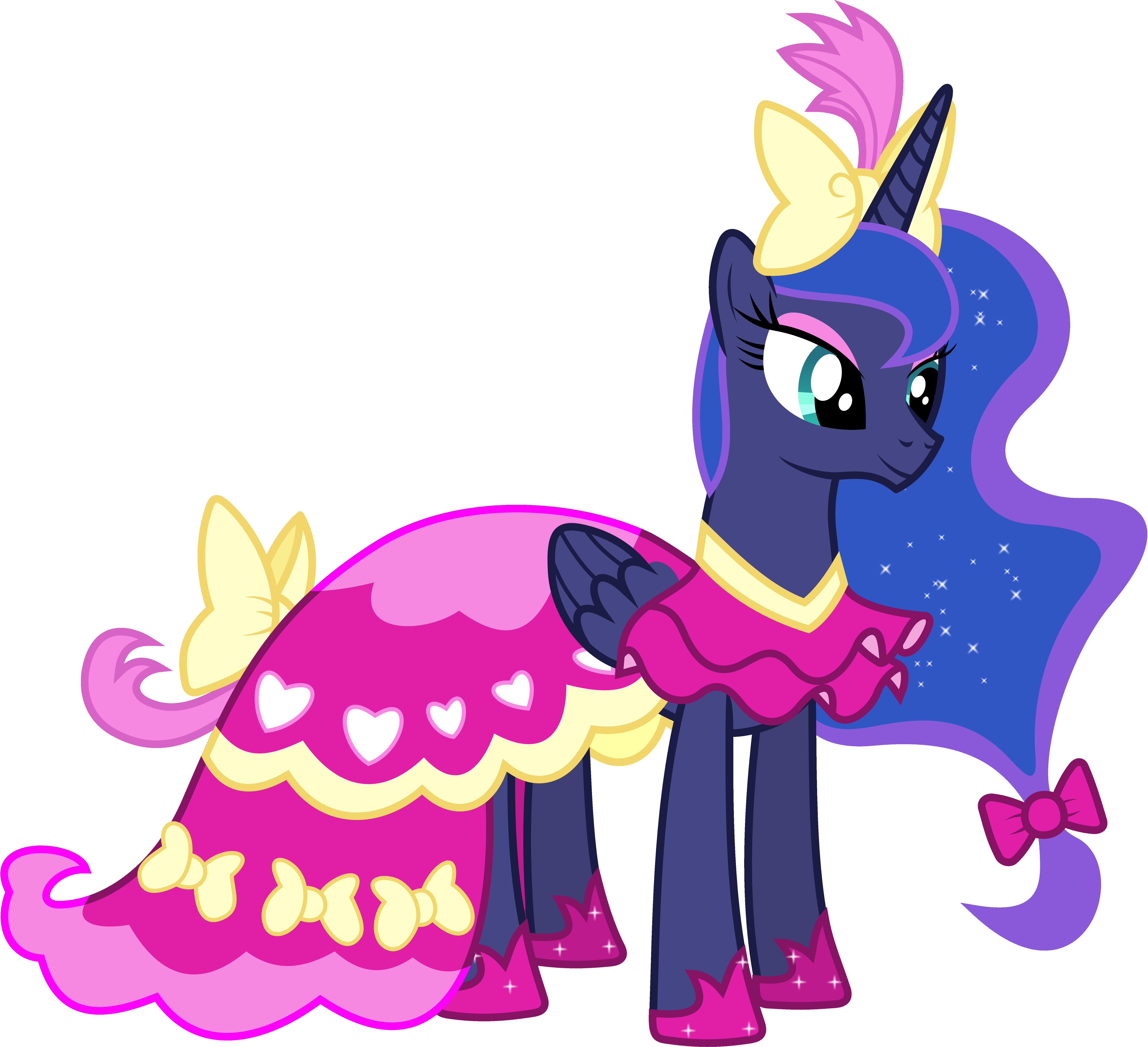 Princess Luna S Dress Rarity S Version By 90sigma On