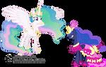 Princess Luna Tries to Confront Princess Celestia