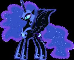 Happy Nightmare Moon by 90Sigma