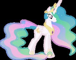 Princess Celestia by 90Sigma
