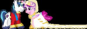 Princess Cadance and Shining Armour Dancing (2)