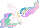 Downcast Princess Celestia