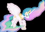 Downcast Princess Celestia