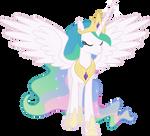 Princess Celestia Walking Away