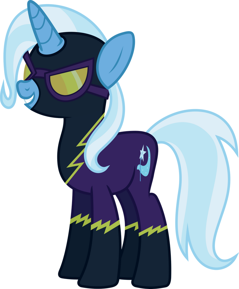 Trixie as a Shadowbolt by 90Sigma