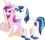 Angry Cadance and Shining (Normal Version)