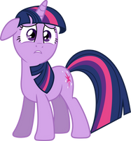 Distraught Twilight Sparkle by 90Sigma