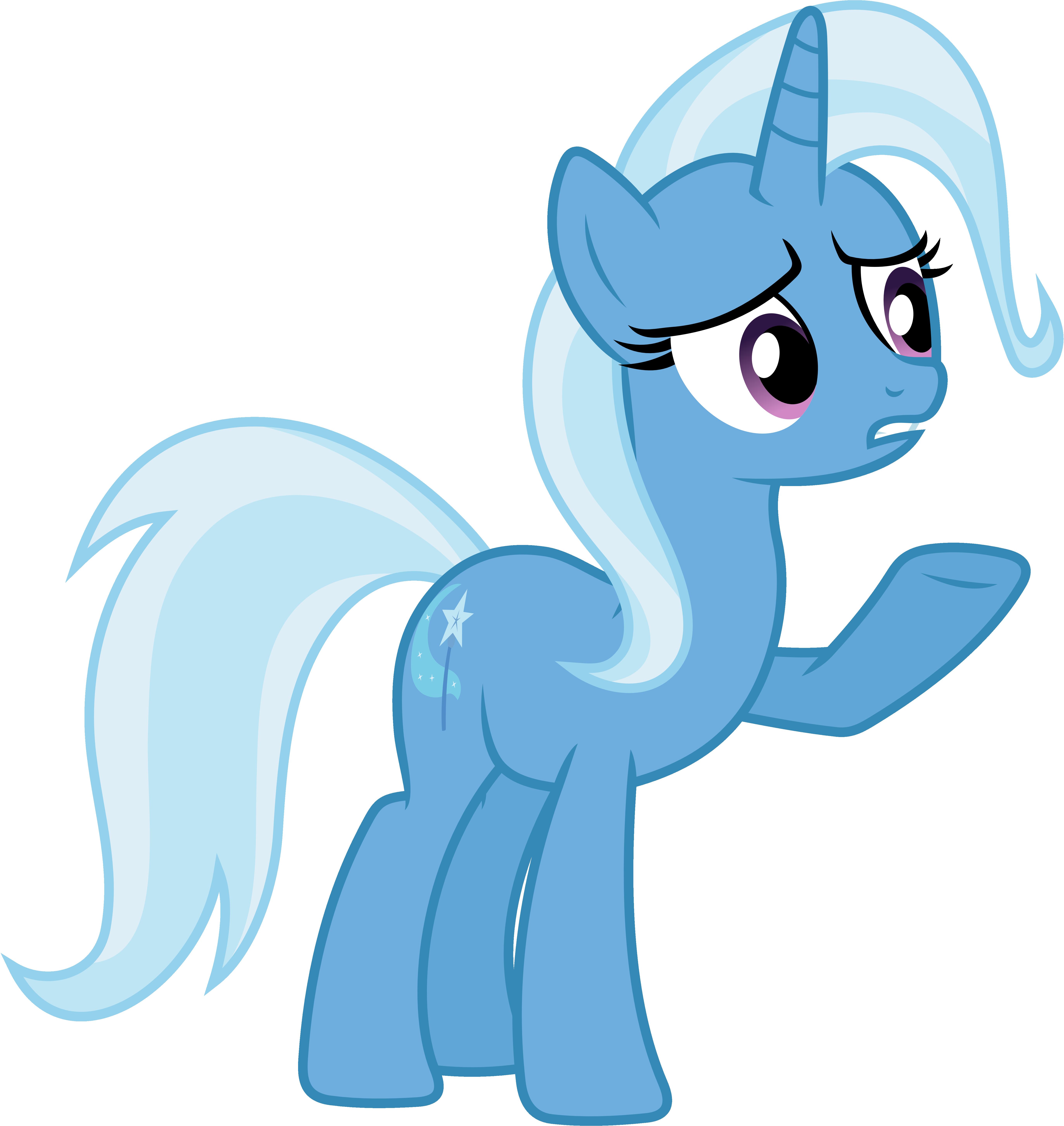 My little pony trixie vector - photo#14