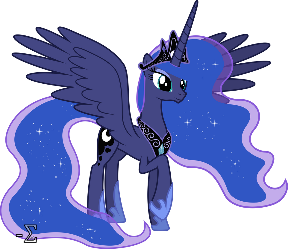 Regal Princess Luna by 90Sigma