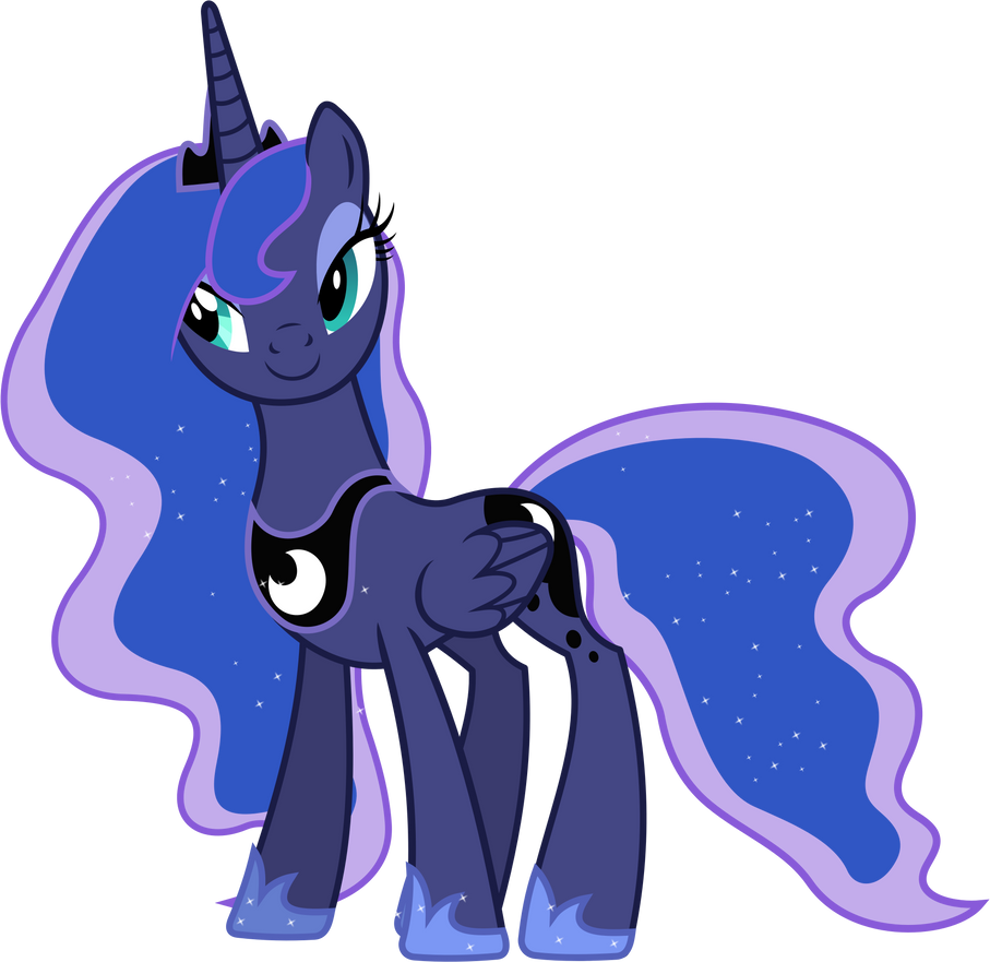 Princess Luna Posing by 90Sigma