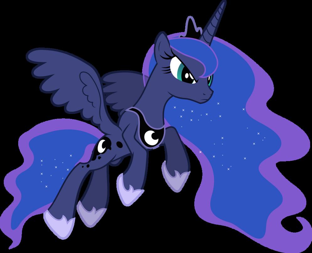 Princess Luna Pouncing by 90Sigma