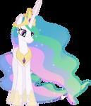 Nonplussed Princess Celestia