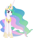 Nonplussed Princess Celestia