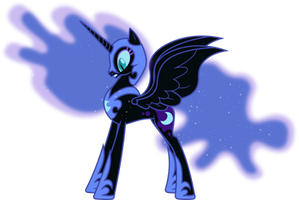 Scared Nightmare Moon (2) by 90Sigma