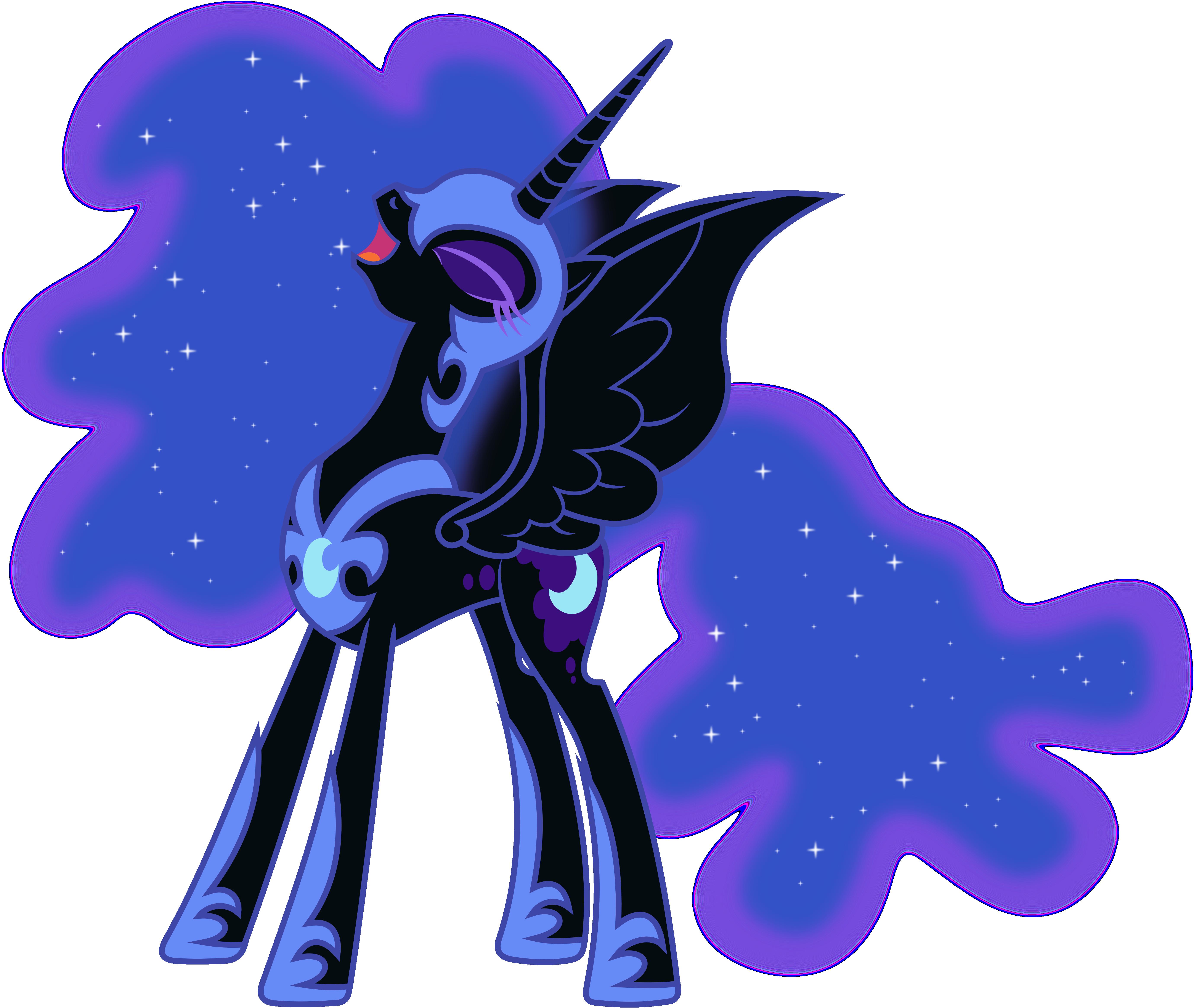 Luna/Nightmare Moon - Random Photo (25890563) - Fanpop   Nightmare Moon Moon