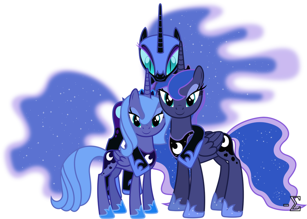 Princess luna 39 s alibis by 90sigma on deviantart - Princesse poney ...
