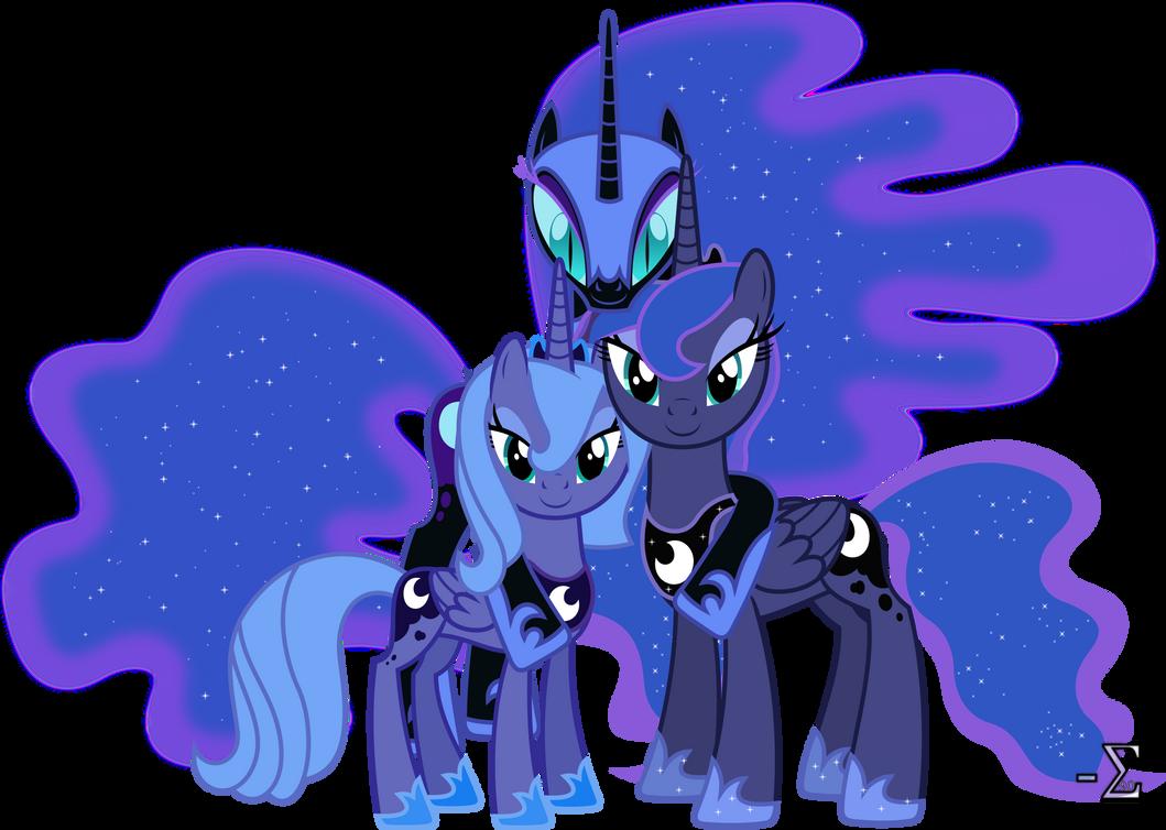Princess Luna's Alibis by 90Sigma