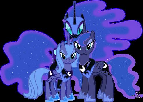Princess Luna's Alibis
