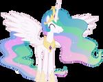 Grinning Princess Celestia (1)