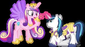 Shining Armour Proposes to Princess Cadance
