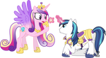 Shining Armour Proposes to Princess Cadance