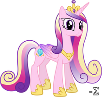 Adorable Princess Cadance by 90Sigma