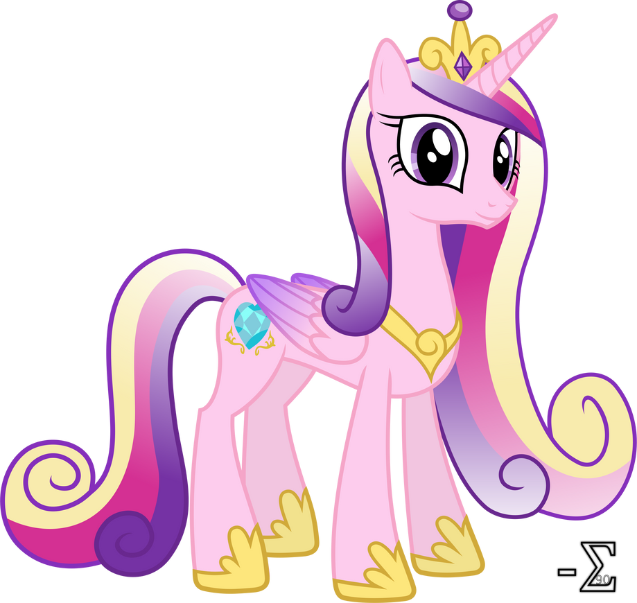 Adorable Princess Cadance by 90Sigma