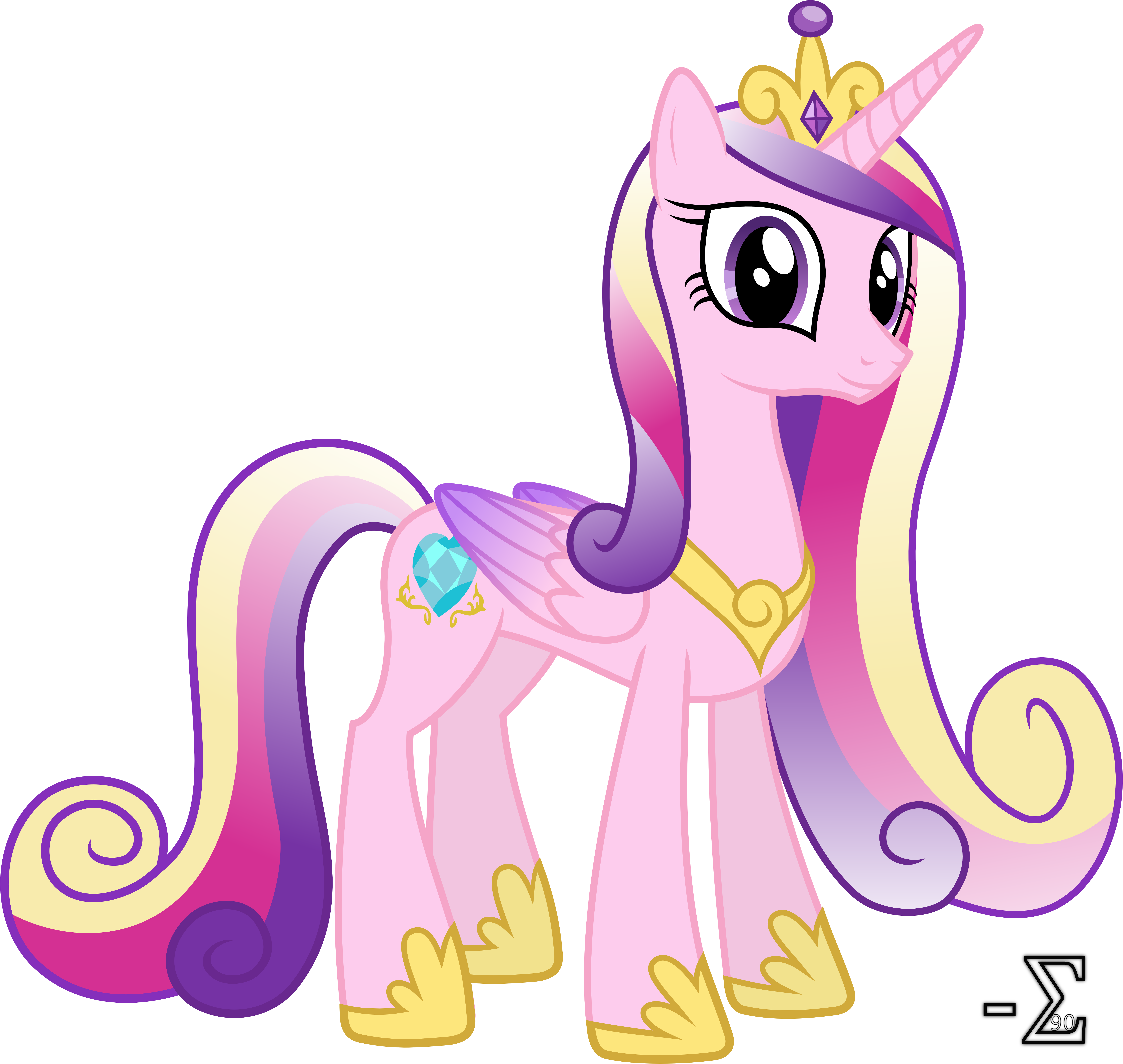 Adorable Princess Cadance By 90sigma On Deviantart Images Of Princess Cadence