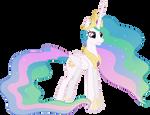 Grinning Princess Celestia (2)