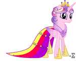 Princess Cadance's Gala Dress