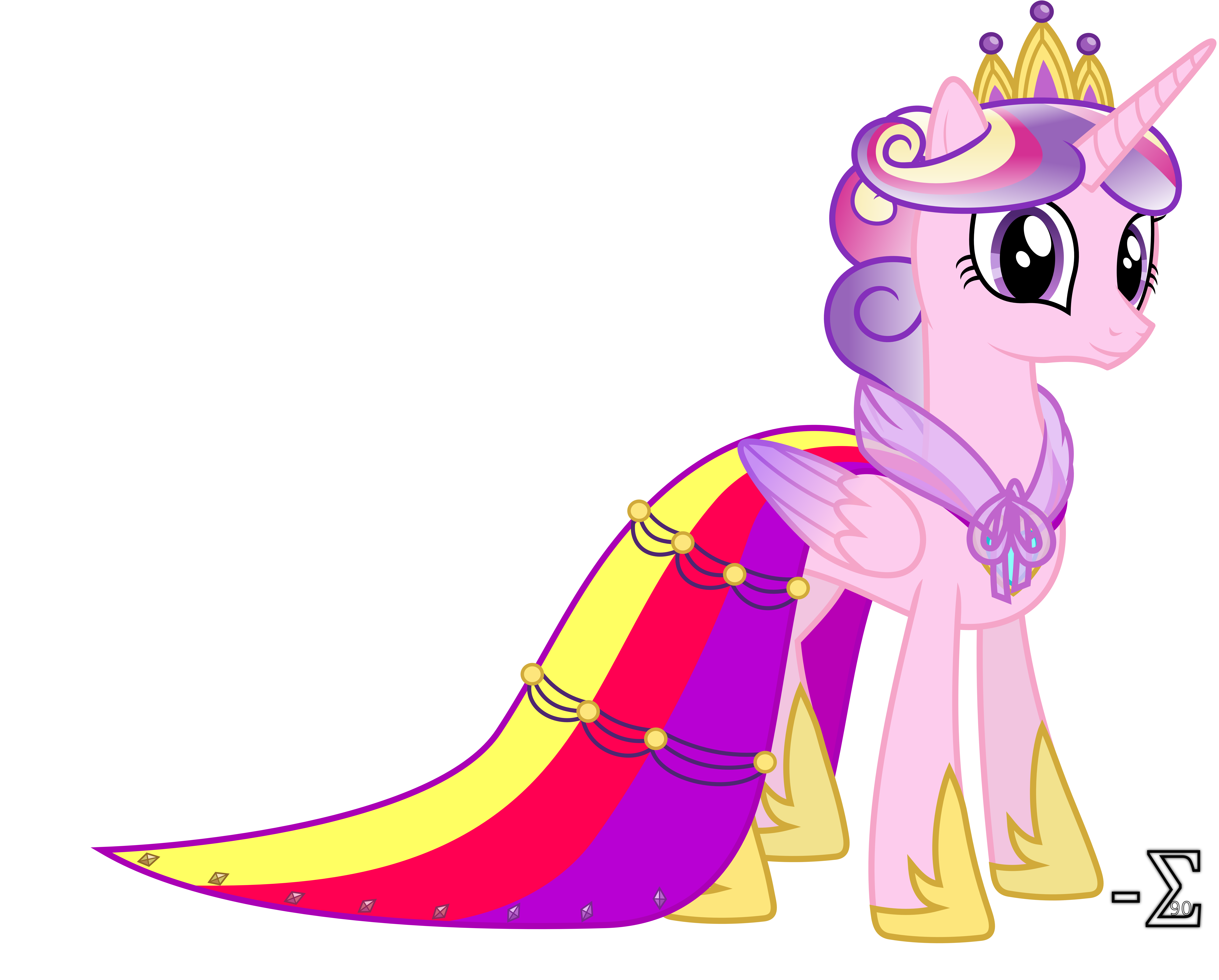 My little pony friendship is magic princess cadence dress - Princesse poney ...