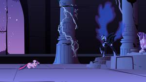 Nightmare Moon Addresses Twilight Sparkle