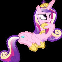 Princess Cadance Thinking by 90Sigma