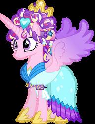 Princess Cadance as the Crystal Princess by 90Sigma