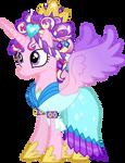 Princess Cadance as the Crystal Princess