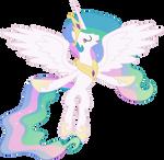 Princess Celestia Flying
