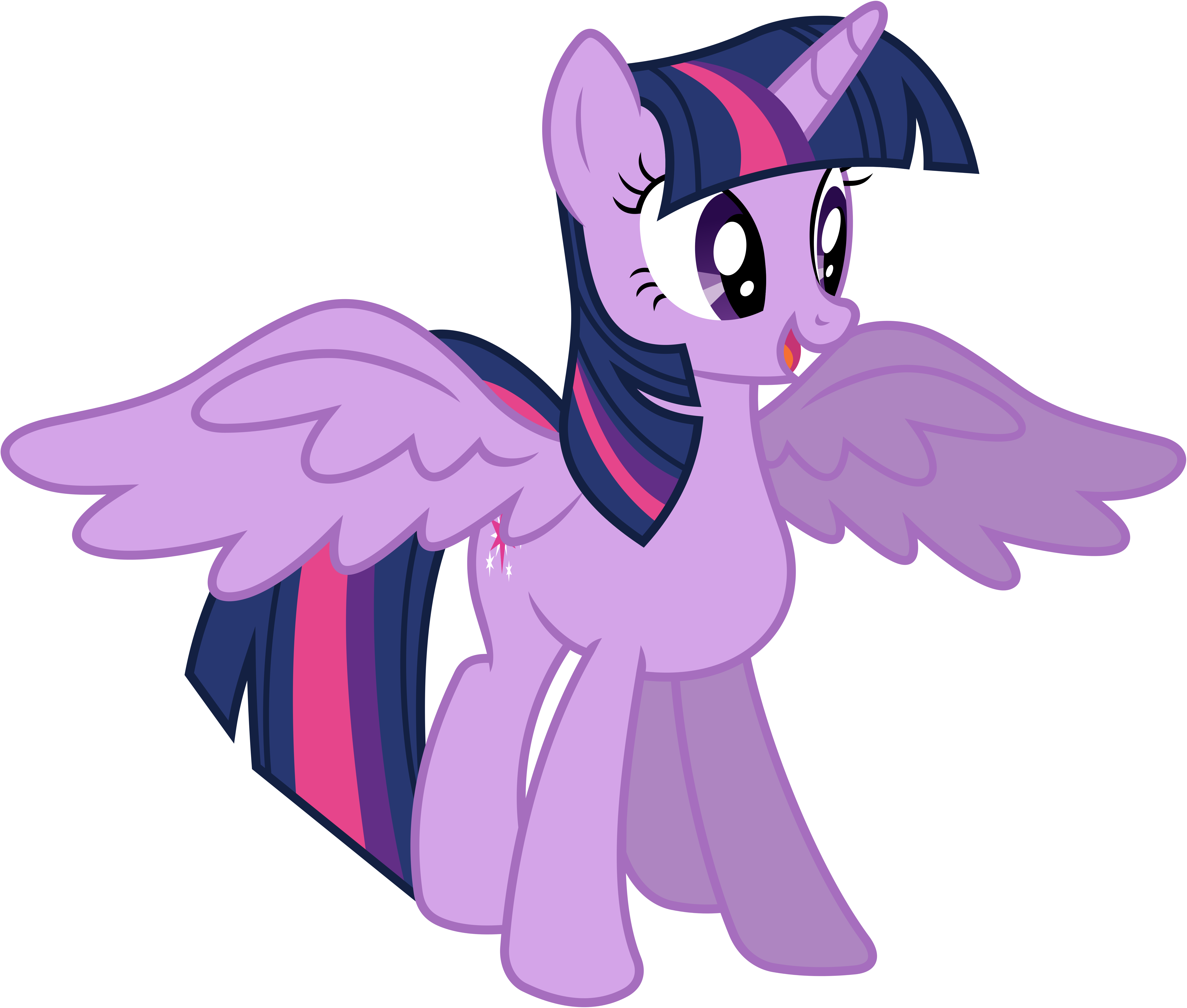 My little pony: Friendship is magic Twilight_sparkle__alicorn__by_90sigma-d5v8fc1