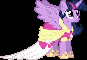 Twilight Sparkle's Coronation Dress by 90Sigma