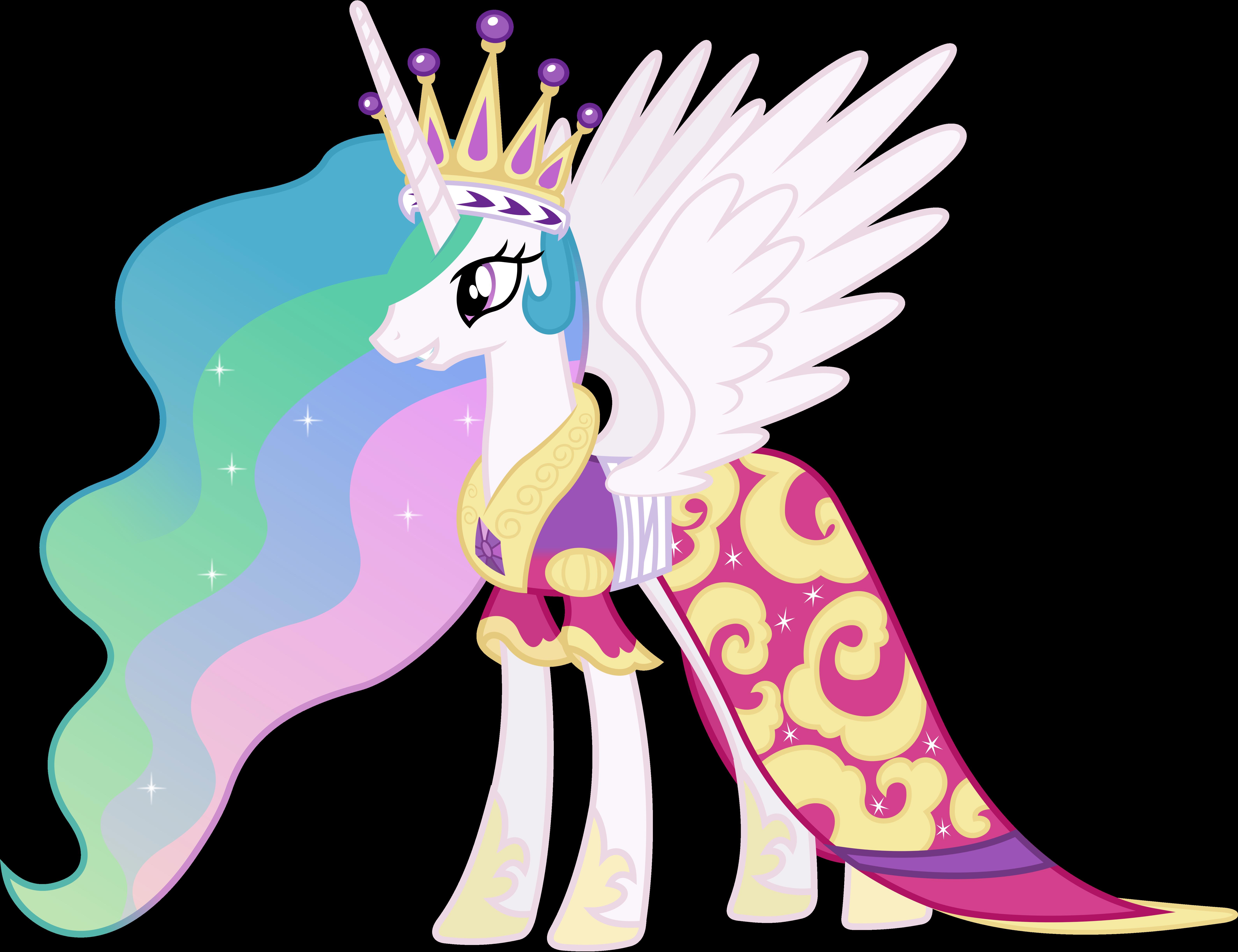 Princess Celestia's Coronation Dress