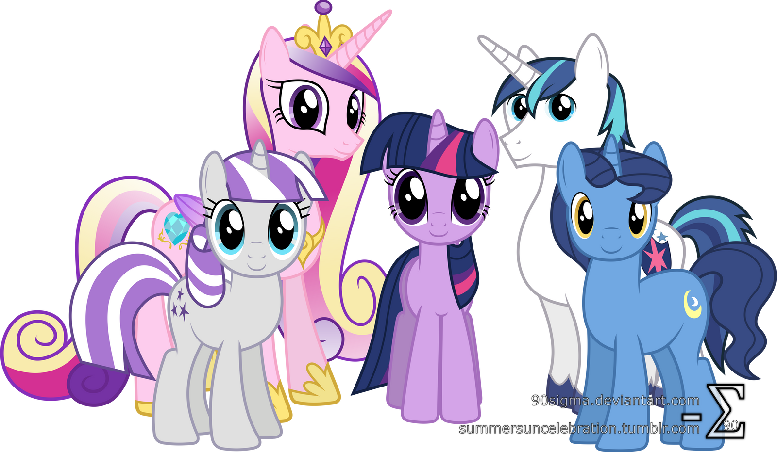 My little pony friendship is magic family tree - photo#27