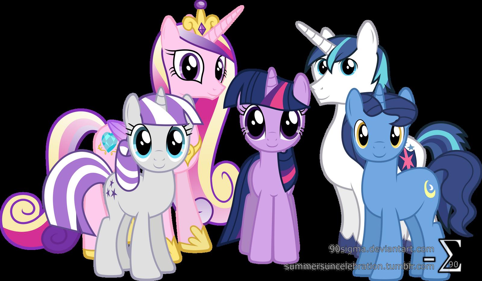 Sparkle Family Photo
